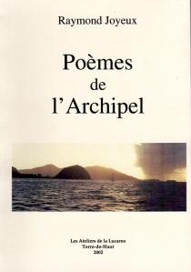 Poemes de l'archipel couveture avec Photo
