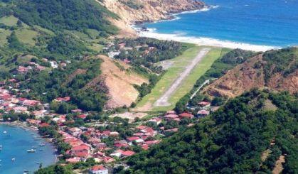 Un aéroport a remplacé l'Étang Bélénus