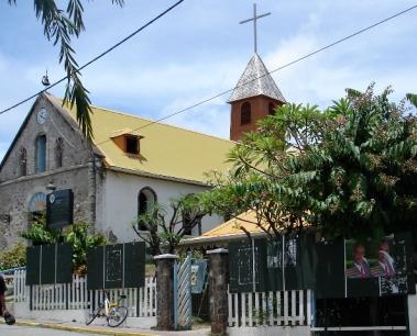 Église de Terre-de-Haut Photo Raymond Joyeux