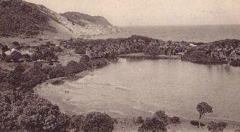 Étang Bélénus avant la construction de l'aérodrome