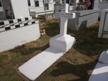 Pierre tombale rénovée