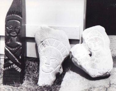 Sculptures sur bois et corail Ph. R. Joyeux