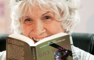 Alice Munro Photo AFP - Peter Mulhy