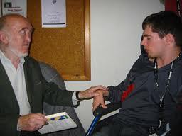 Paul Melki et le professeur Jacquard