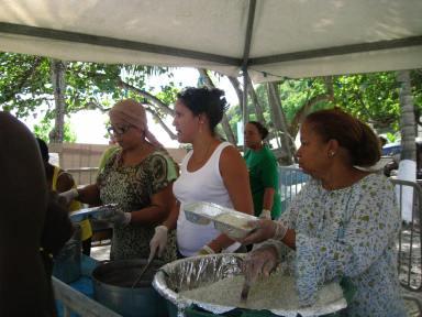 Des bénévoles omniprésentes