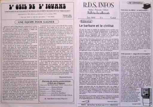 Organes de l'opposition RDS