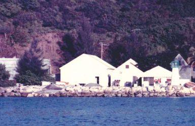 Unités de dessalement de Morel en 1985 - Photo R.Joyeux
