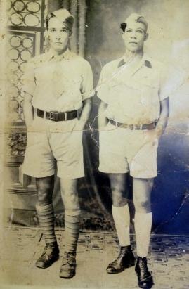 Masséna Desbonnes et Raphaël Cassin à la Dominique en 1942