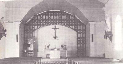 Chœur rénové du transept
