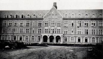 Petit séminaire de Rostrenen où J-M Offrédo sera professeur