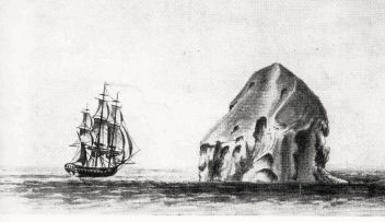 La Néréïde et le rocher du Diamant