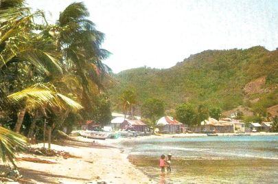 Rivage de Petite Anse avant son comblement