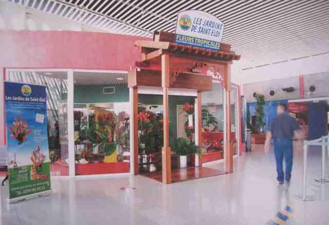 Boutique de l'aéroport Pôle Caraïbe
