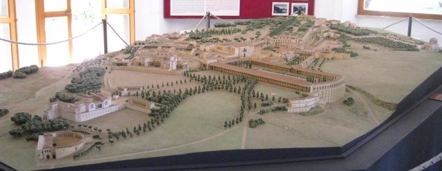 Maquette de la Villa Adriana