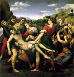 La déposition. Raphael
