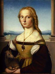 La dame à la Licorne. Raphael