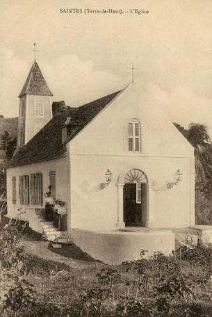 Église de Terre-de-Haut au début du XXème siècle