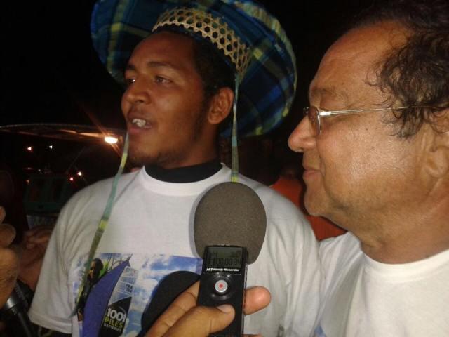 Avec son père Jean-Paul- Ph. RCI