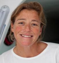 Jeanne Grégoire, coach de Nicolas Thomas - Ph Alexis Courcoux