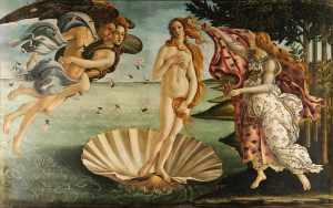 La Naissance de Vénus - Botticelli