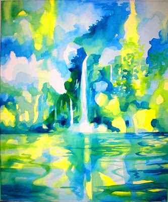 cascade verte