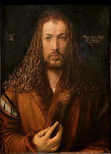 Albretch Dürer : Autoportrait à la fourrure -1500