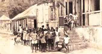 Élèves de l'école publique de Terre-de-Haut