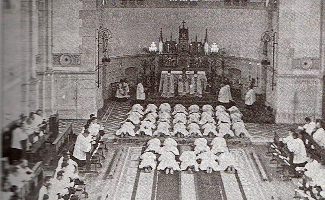 Ordination de Georges Magloire à Chevilly, en 1932