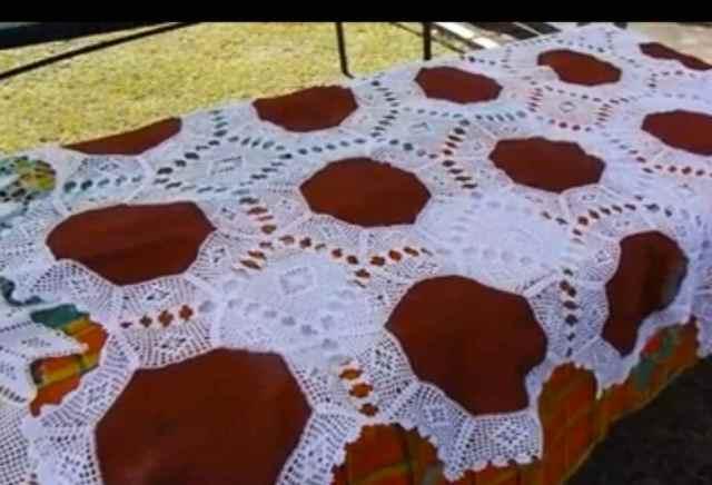Crochet saintois. Capture d'écran fête de Terre-de-Bas