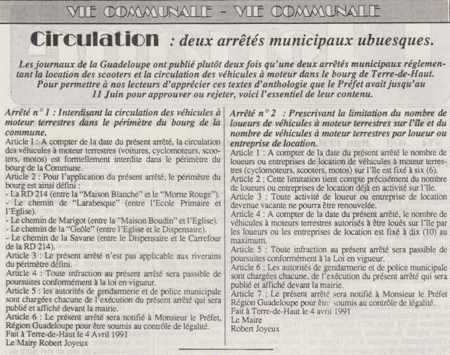 Journal L'IGUANE , mai 1991