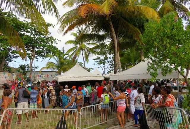 Fête de la pêche 2015 à Terre-de-Bas