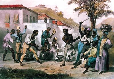 Soirée d'esclaves animée par le Gwoka