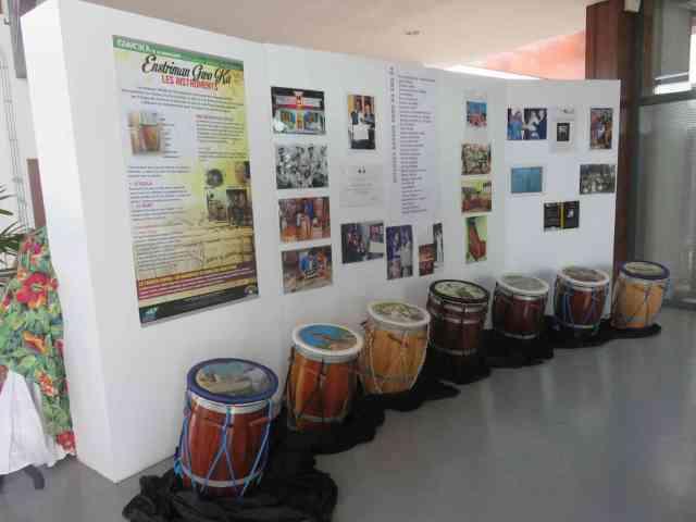 Exposition de KA à la Médiathèque de Baie-Mahault - Ph R. Joyeux