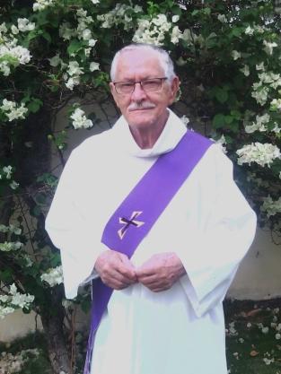 F.Foy en son habit de diacre - Ph. Eglise en Guadeloupe