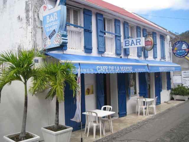 Le Café de la Marine : maison familiale de Geo Petit à Terre-de-Haut