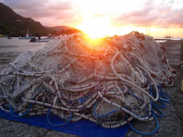 Senne traditionnelle au soleil couchant- Ph R.Joyeux