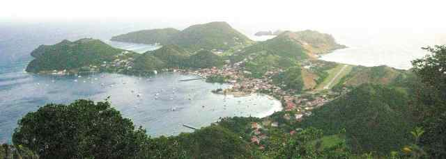 Terre-de-Haut, vue panoramique