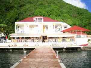 Hôtel Kanaoa à Terre-de-Haut. Ph. R.Joyeux