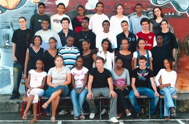 Une classe de 1ère du Lycée de Massabielle