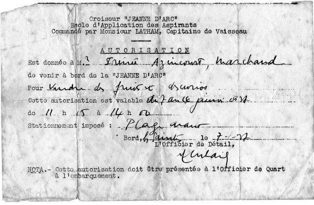 Autorisation vente sur la Jeanne d'Arc - copie