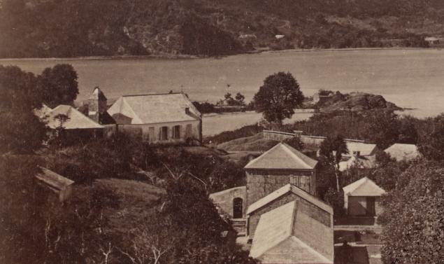 1855; Le clocher n'a qu'un seul niveau